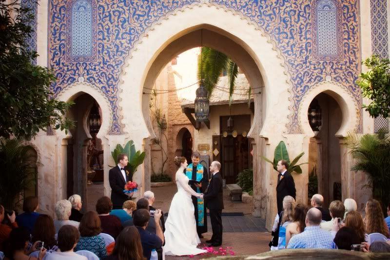 Moroccan Wedding Idea