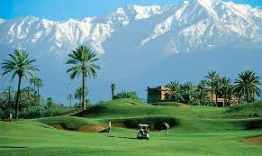 Golfing in Morocco